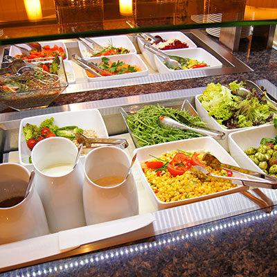Abendbuffet Hotel Alpenwelt 1