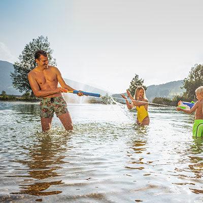 Schwimmen & Baden in Flachau, Salzburg