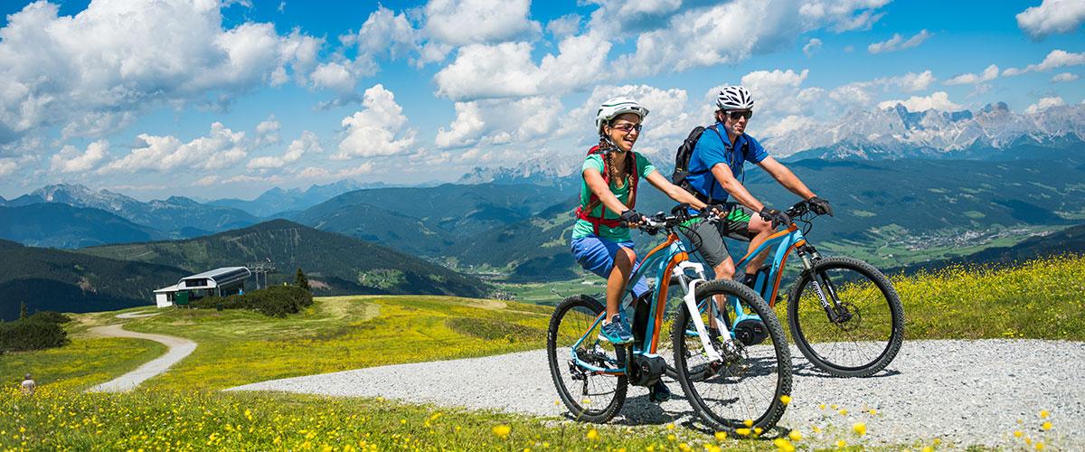 Mountainbiken - Sommerurlaub in Flachau, Salzburger Land