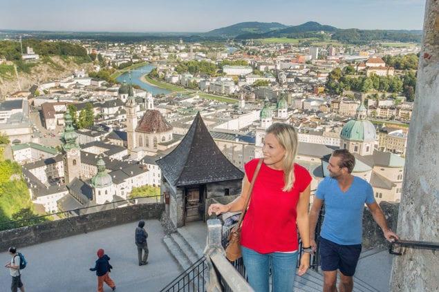Festung Hohensalzburg - Ausflugsziel im Salzburger Land