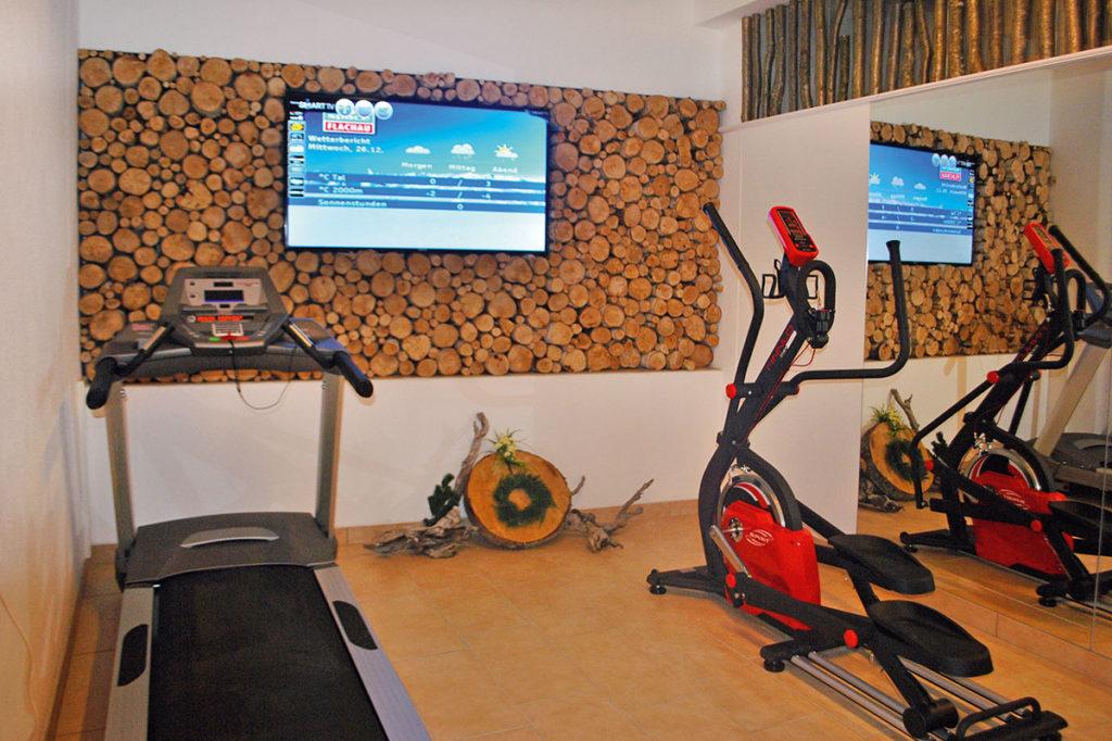 Fitnessraum im Hotel Alpenwelt in Flachau