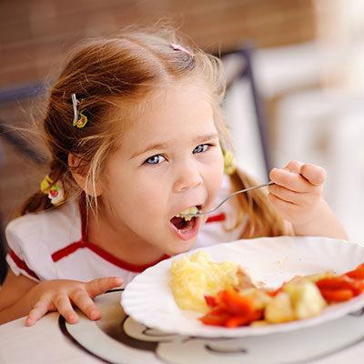 Kinderbuffet - Inklusivleistung im Hotel Alpenwelt in Flachau