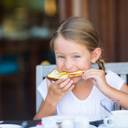 Kinderbuffet - 3 Sterne Superior Hotel Alpenwelt in Flachau