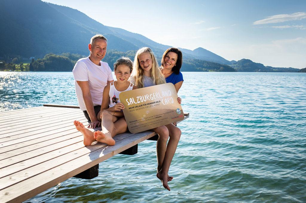 SalzburgerLand Card, Urlaub im Salzburger Land