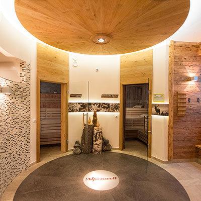 Wellnessbereich - Inklusivleistung im Hotel Alpenwelt in Flachau