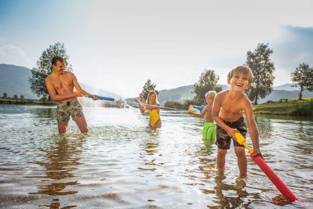 Schwimmen - Sommerurlaub in Flachau, Salzburg