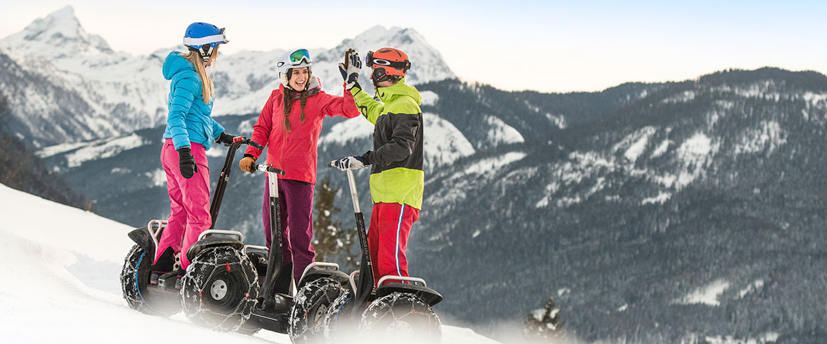 Segway - Winter- & Skiurlaub in Flachau, Ski amadé