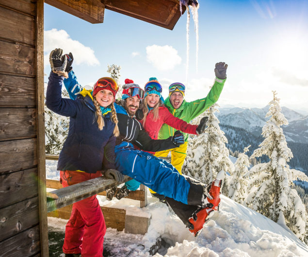Schneeschuhwandern - Winterurlaub in Flachau, Ski amadé