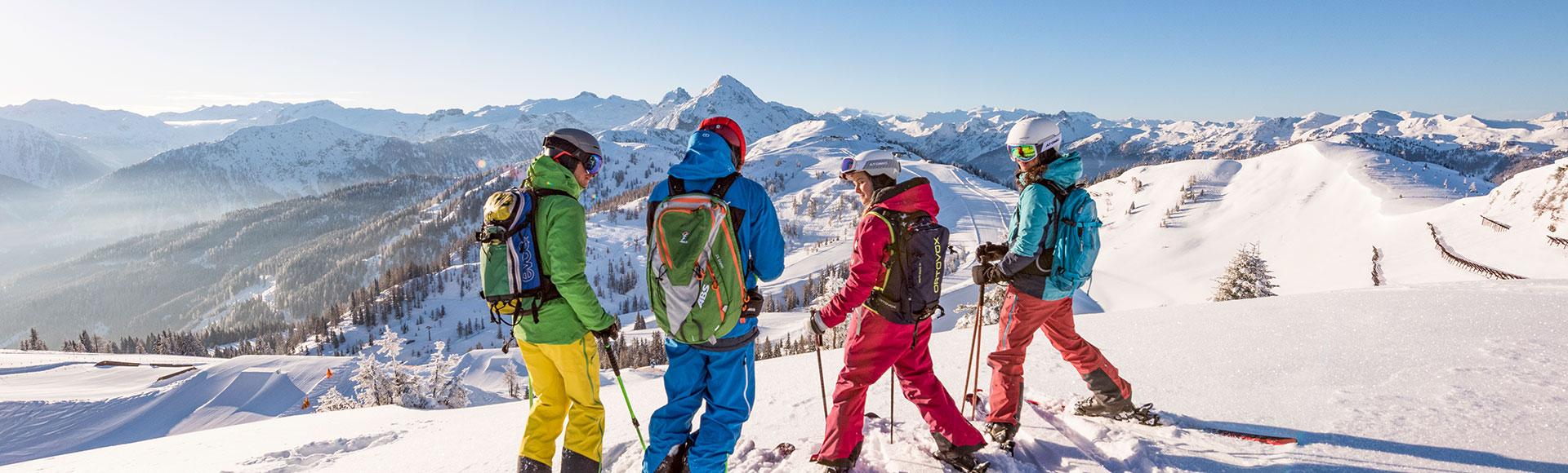 Skifahren - Winterurlaub in Flachau, Ski amadé
