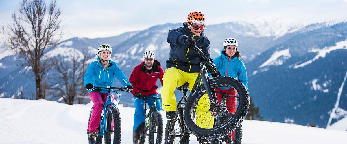 Snowbike - Winter- & Skiurlaub in Flachau, Ski amadé