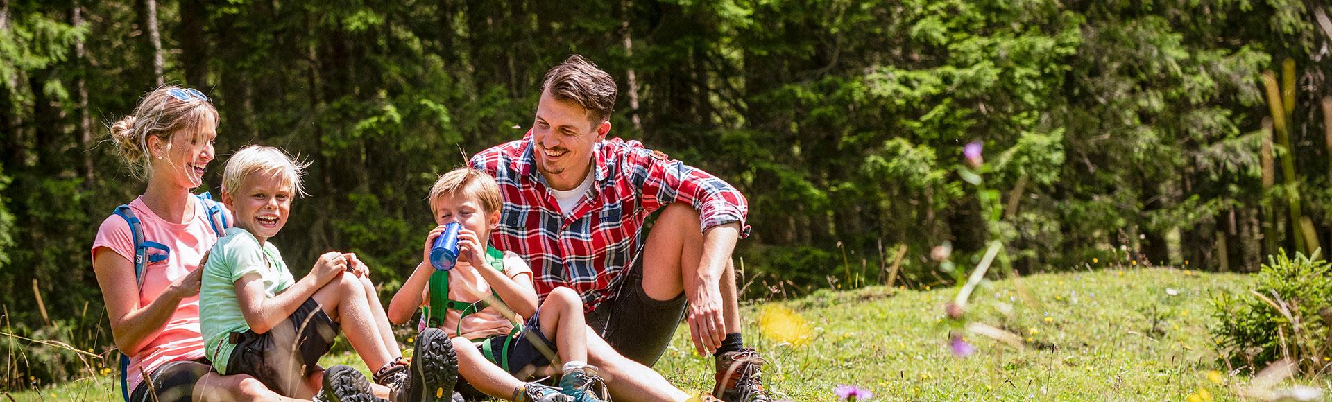 Sommerurlaub Familienurlaub Flachau Salzburg 1