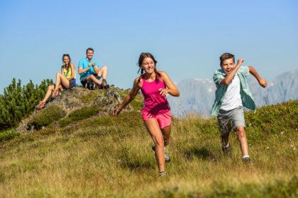 Wanderurlaub & Familienurlaub in Flachau