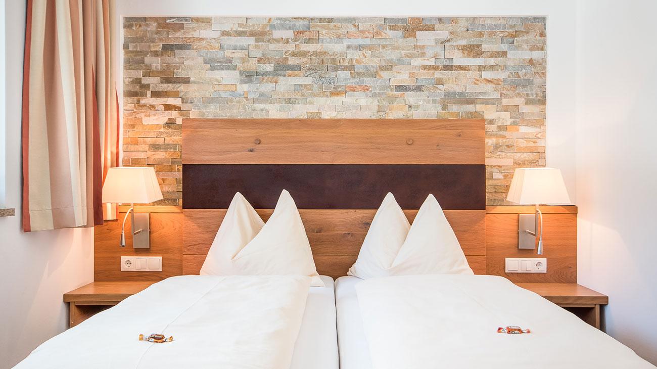 Gediegene Zimmer für 2 Personen, komfortable Zimmer in Flachau